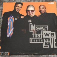 """Discos de vinilo: HEAVY D. & THE BOYZ - NOW THAT WE FOUND LOVE (12"""", SINGLE). Lote 288381298"""