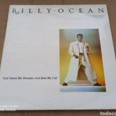 """Discos de vinilo: BILLY OCEAN - GET OUTTA MY DREAMS, GET INTO MY CAR (12""""). Lote 288382938"""