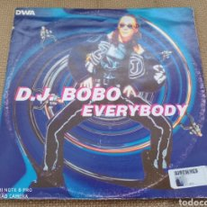 "Discos de vinilo: DJ BOBO - EVERYBODY (12""). Lote 288383688"
