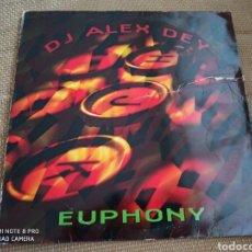"""Discos de vinilo: DJ ALEX DEY - EUPHONY (12""""). Lote 288385333"""