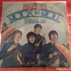 """Discos de vinilo: BEATLES """"ROCK N ROLL MUSIC"""", 2LPS, EDICIÓN ESPAÑOLA 1976. Lote 288388948"""