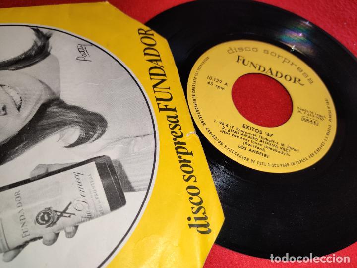 LOS ANGELES EXITOS 67.98.6/¿HAS AMADO ALGUNA VEZ?/ESCAPATE +1 EP 1967 FUNDADOR (Música - Discos de Vinilo - EPs - Grupos Españoles 50 y 60)
