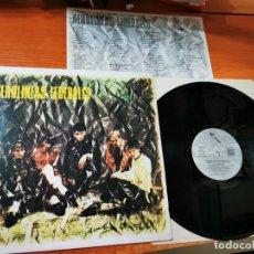 Discos de vinilo: AEROLINEAS FEDERALES AEROLINEAS FEDERALES LP VINILO DEL AÑO 1986 CON ENCARTE CONTIENE 13 TEMAS. Lote 288391898