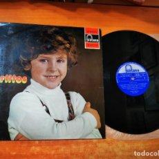 Discos de vinilo: CARLITOS CARLITOS LP VINILO DEL AÑO 1972 ESPAÑA MUSICA INFANTIL CONTIENE 12 TEMAS MUY RARO. Lote 288393318