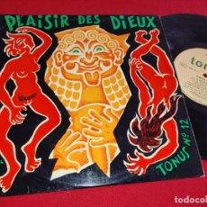 Discos de vinilo: SALLE DE GARDE TONUS HOPITAUX PARISIENS PLAISIR DES DIEUX 12 10'' 25 CTMS TONUS FRANCE FRANCIA. Lote 288395498