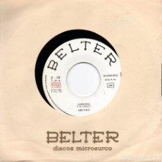 Discos de vinilo: SINGLE PROMOCIONAL DE LOS T.N.T. EUROVISION CARACOLA. Lote 288395763
