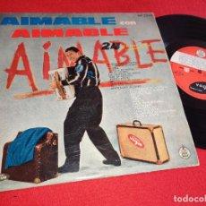 Discos de vinilo: AIMABLE CON 24 GRANDES EXITOS 10'' 25 CTMS 1960 VOGUE ESPAÑA SPAIN. Lote 288395993