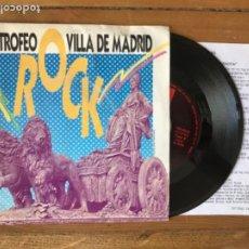 Discos de vinilo: DISCO SINGLE X TROFEO ROCK VILLA MADRID. 2 ROCK.1988. Lote 288398563