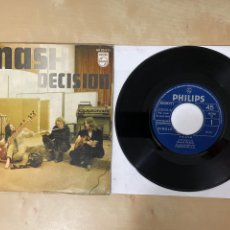 "Discos de vinilo: SMASH - DECISION / LOOK AT THE RAINBOW - SINGLE 7"" - SPAIN 1970. Lote 288400523"