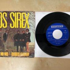 """Discos de vinilo: LOS SIREX - NO, A MI NO / DEBES SABER - SINGLE 7"""" - SPAIN 1970. Lote 288401618"""