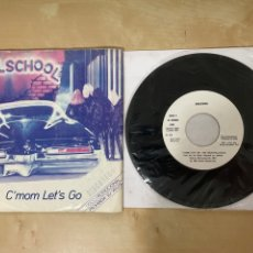 "Discos de vinilo: GIRLSCHOOL - C'MON LET'S GO - SINGLE 7"" - SPAIN 1981 / PROMO. Lote 288405918"
