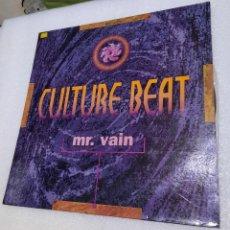 Discos de vinilo: CULTURE BEAT - MR. VAIN. Lote 288409568