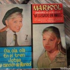 Discos de vinilo: EP MARISOL - HA LLEGADO UN ÁNGEL +3. Lote 288414843