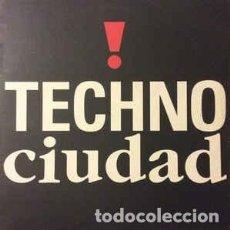 Discos de vinilo: TECHNO CIUDAD - LP COMPILATION SPAIN 1992. Lote 288435483