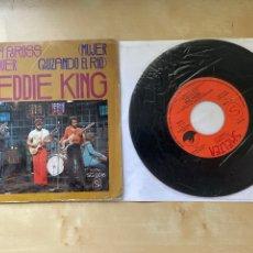 "Discos de vinilo: FREDDIE KING - WOMAN ACROSS THE RIVER - SINGLE 7"" - SPAIN 1976. Lote 288440868"