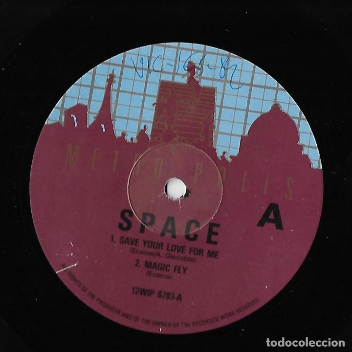 """Discos de vinilo: SPACE UK 12"""" MAXI 1982 SAVE YOUR LOVE FOR ME + MAGIC FLY + ROBBOTS +AIR FORCE ELECTRONIC DISCO DANCE - Foto 3 - 288441498"""