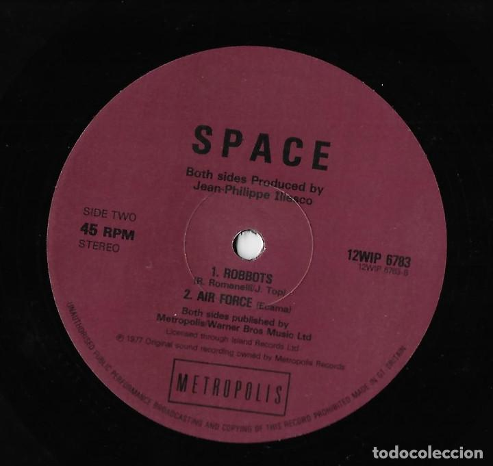 """Discos de vinilo: SPACE UK 12"""" MAXI 1982 SAVE YOUR LOVE FOR ME + MAGIC FLY + ROBBOTS +AIR FORCE ELECTRONIC DISCO DANCE - Foto 4 - 288441498"""