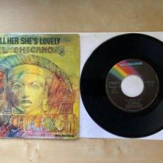 "Discos de vinilo: EL CHICANO - TELL HER SHE'S LOVELY - SINGLE 7"" - SPAIN 1974. Lote 288441713"
