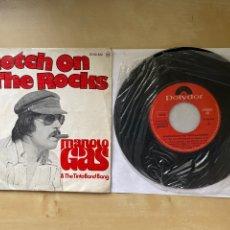 "Discos de vinilo: MANOLO GAS - SCOTCH ON THE ROCKS - SINGLE 7"" - SPAIN 1976. Lote 288446708"