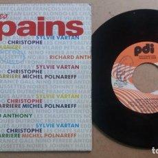 Discos de vinilo: SALUT LES COPAINS / SINGLE 7 INCH PROMO. Lote 288452578
