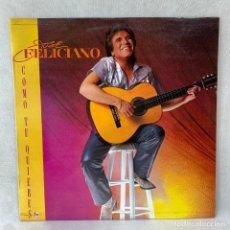Discos de vinilo: LP - VINILO JOSE FELICIANO - COMO TU QUIERES - ESPAÑA - AÑO 1984. Lote 288454953