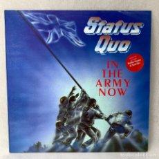 Discos de vinilo: LP - VINILO STATUS QUO - IN THE ARMY NOW - ESPAÑA - AÑO 1986. Lote 288455123