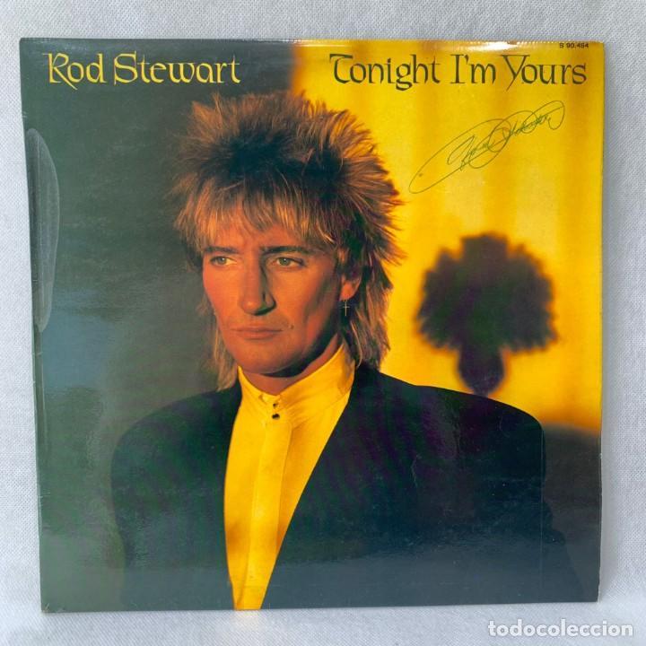 LP - VINILO ROD STEWART - TONIGHT I'M YOURS + ENCARTE - ESPAÑA - AÑO 1981 (Música - Discos - LP Vinilo - Pop - Rock - New Wave Internacional de los 80)