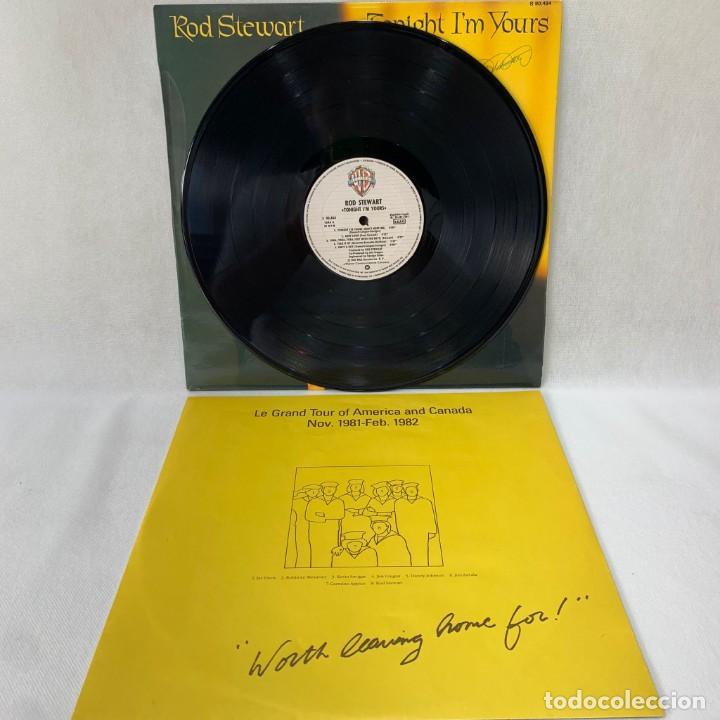 Discos de vinilo: LP - VINILO ROD STEWART - TONIGHT IM YOURS + ENCARTE - ESPAÑA - AÑO 1981 - Foto 2 - 288455478