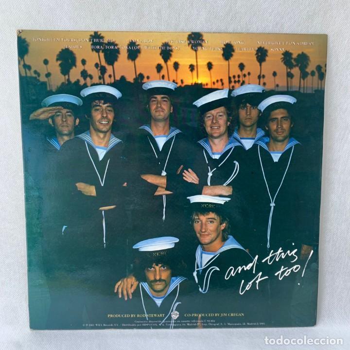 Discos de vinilo: LP - VINILO ROD STEWART - TONIGHT IM YOURS + ENCARTE - ESPAÑA - AÑO 1981 - Foto 5 - 288455478