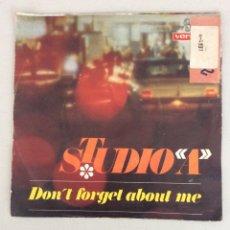 Discos de vinilo: STUDIO A. DON'T FORGET ABOUT ME.. Lote 288455493
