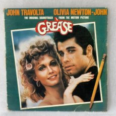 Discos de vinilo: LP - VINILO GREASE - JOHN TRAVOLTA - DOBLE PORTADA - DOBLE LP + ENCARTE - ESPAÑA - AÑO 1978. Lote 288455743