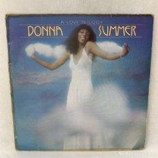 Discos de vinilo: LP - VINILO DONNA SUMMER - A LOVE TRILOGY - FRANCIA - AÑO 1976. Lote 288455963
