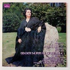 Discos de vinilo: MONTSERRAT CABALLÉ ORQUESTA SINFÓNICA DE BARCELONA - MACBETH, IL TROVATORE, TURANDOT.. COLUMBIA 1976. Lote 288456613