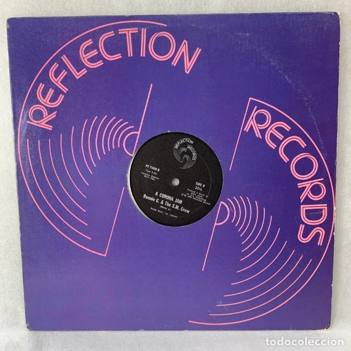 LP - VINILO RON HUNT / RONNIE G. & THE S.M. CREW - SPIDERAP / A CORONA JAM - USA - AÑO 1979 (Música - Discos - LP Vinilo - Disco y Dance)