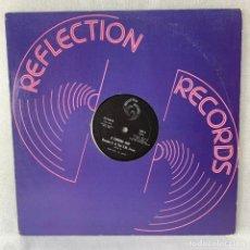 Discos de vinilo: LP - VINILO RON HUNT / RONNIE G. & THE S.M. CREW - SPIDERAP / A CORONA JAM - USA - AÑO 1979. Lote 288456843