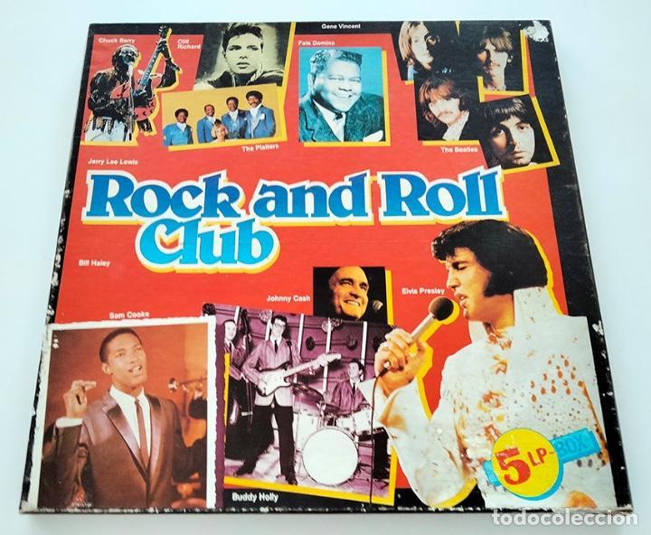 CAJA PACK 5 VINILOS LP ROCK AND ROLL CLUB. VOLUMEN 1 AL 5. 1990. (Música - Discos - LP Vinilo - Rock & Roll)