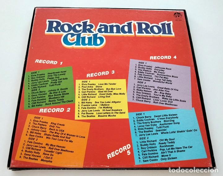 Discos de vinilo: CAJA PACK 5 VINILOS LP ROCK AND ROLL CLUB. VOLUMEN 1 al 5. 1990. - Foto 2 - 288459993