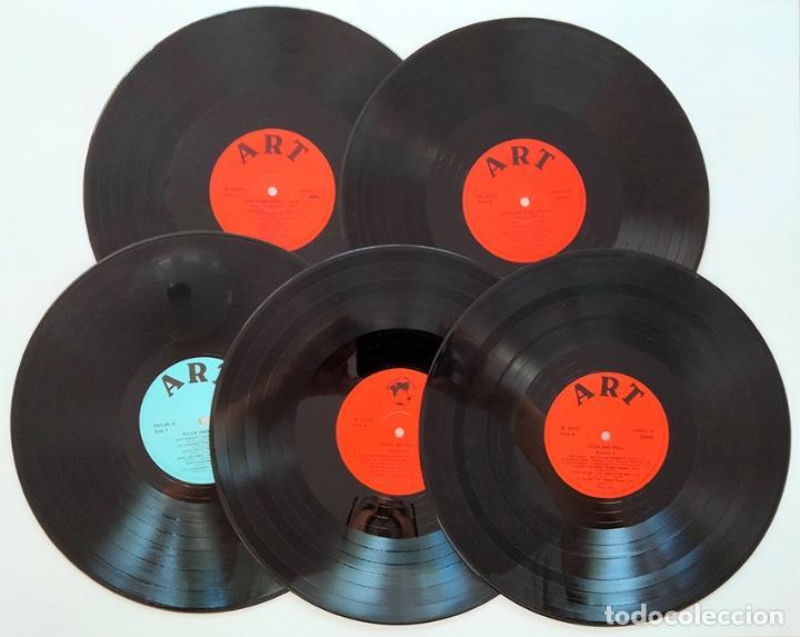 Discos de vinilo: CAJA PACK 5 VINILOS LP ROCK AND ROLL CLUB. VOLUMEN 1 al 5. 1990. - Foto 4 - 288459993