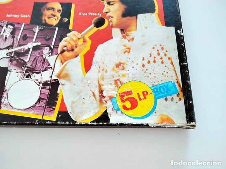 Discos de vinilo: CAJA PACK 5 VINILOS LP ROCK AND ROLL CLUB. VOLUMEN 1 al 5. 1990. - Foto 5 - 288459993