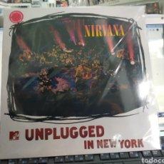Discos de vinilo: NIRVANA LP UNPLUGGED PRECINTADO VINILO DE COLOR. Lote 288462698