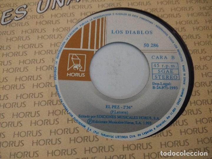 Discos de vinilo: LOS DIABLOS/EL PEZ/SINGLE. - Foto 2 - 288462853