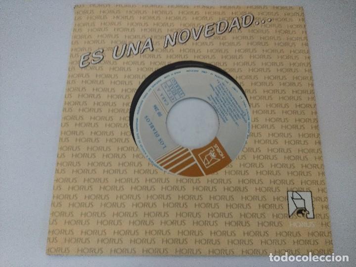 Discos de vinilo: LOS DIABLOS/EL PEZ/SINGLE. - Foto 4 - 288462853