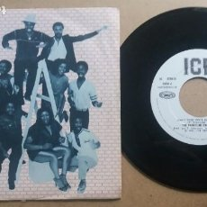 Discos de vinilo: THE FRONTLINE ORCHESTRA / DON'T TURN YOUR BACK ON ME / SINGLE 7 INCH. Lote 288466068