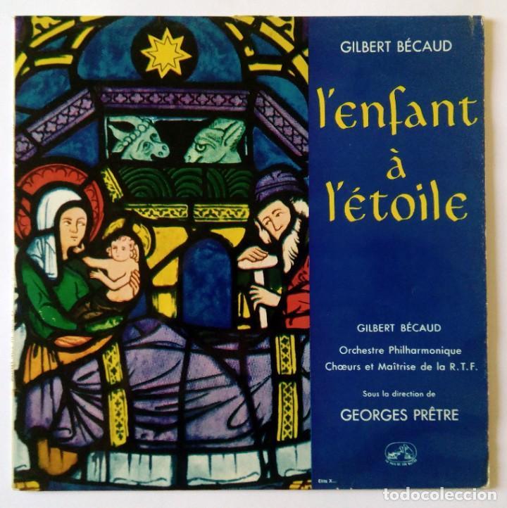 """10""""- L'ENFANT À L'ÉTOILE - GILBERT BÉCAUD - ORCHESTRE PHILARMONIQUE R.T.F. - GEORGES PRETRE (Música - Discos - LP Vinilo - Canción Francesa e Italiana)"""