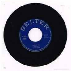 Discos de vinilo: EMILIO JOSE - SOLEDAD / CONTIGO QUISIERA ESTAR - SINGLE 1973 - SOLO VINILO. Lote 288468963