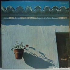 Discos de vinilo: ORQUESTA DE LA SUISSE ROMANDE // ALBENIZ / TURINA // 1972 // (VG VG). LP. Lote 288469353