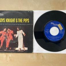 """Discos de vinilo: GLADYS KNIGHT & THE PIPS - EL FINAL DE NUESTRO CAMINO / DEBERÍA SER YO - SINGLE 7"""" - SPAIN 1968. Lote 288469943"""