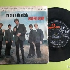 Discos de vinilo: MANFRED MANN - THE ONE IN THE MIDDLE +3 - 1965 - COMPRA MÍNIMA 3 EUROS. Lote 288472003