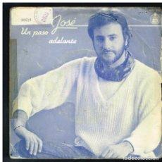 Discos de vinilo: EMILIO JOSE - UN PASO ADELANTE / TU - SINGLE 1983. Lote 288472518