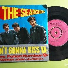 Discos de vinilo: THE SEARCHERS - AIN´T GONNA KISS YA +3 - 1963 - COMPRA MÍNIMA 3 EUROS. Lote 288472613